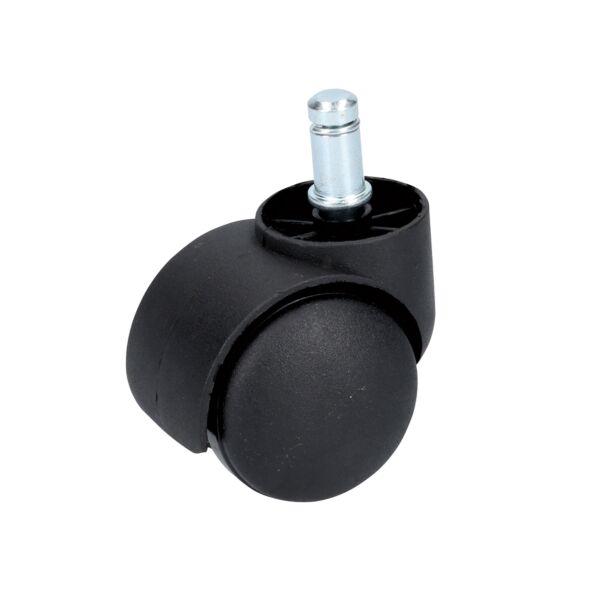 Rodaja tipo yoyo de espiga con aro y freno de 50 mm Surtek